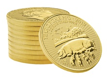 2019 Royal Mint 1oz Year of the Pig Gold Coin