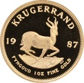 1987 1oz Gold Proof Krugerrand