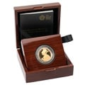 2015 £2 Two Pound Proof Gold Coin Definative Britannia Boxed