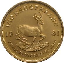 1981 Tenth Ounce Krugerrand
