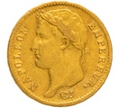 1808 20 French Francs - Napoleon (I) Laureate Head - A