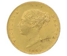 1859 Victoria Half Sovereign