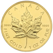 2006 1oz Canadian Maple Gold Coin