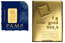 1 Gram Gold Bar Best Value (Brand New)