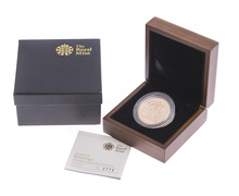 2010 - Gold £5 Brilliant Uncirculated Coin Boxed