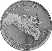 2017 1oz Silver Canadian Lynx