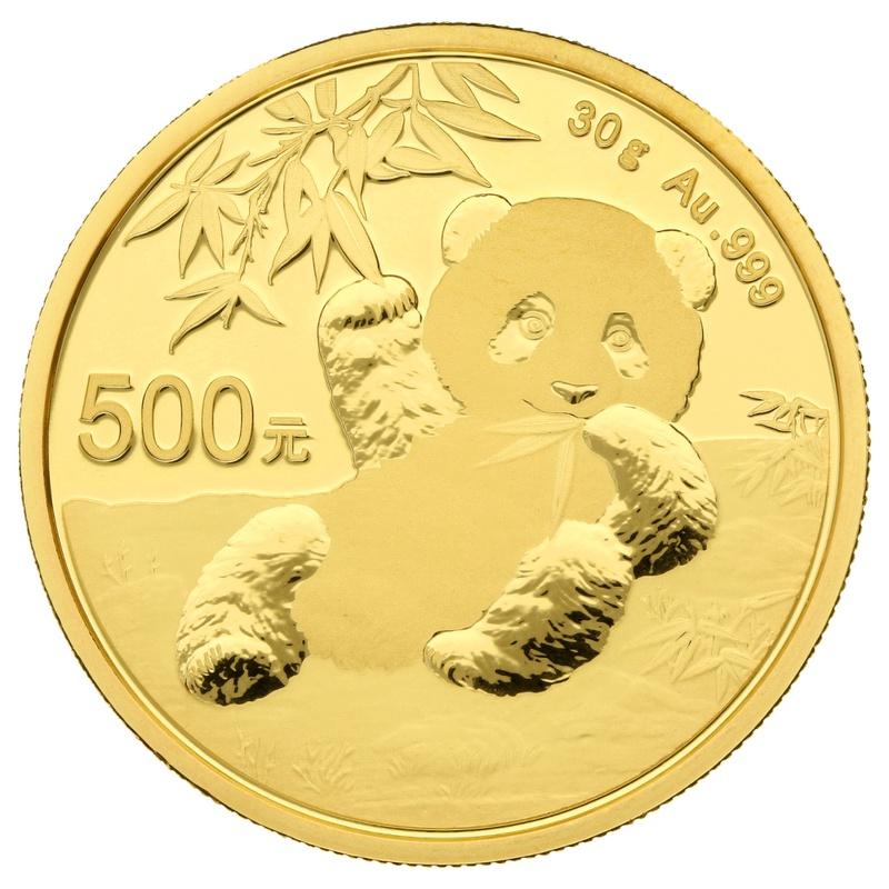 2020 30g Gold Chinese Panda Coin
