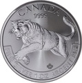 2016 1oz Silver Canadian Cougar
