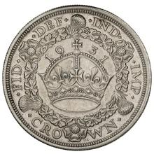 1931 George V Silver Crown