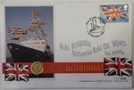 2001 Tenth Ounce Gold Britannia Commemorative Cover