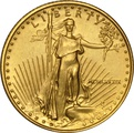 1989 Tenth Ounce Eagle Gold Coin MCMLXXXIX