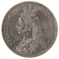 1887 Victoria Jubilee Head Crown - Extremely Fine