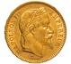 1866 20 French Francs - Napoleon III Laureate Head - BB