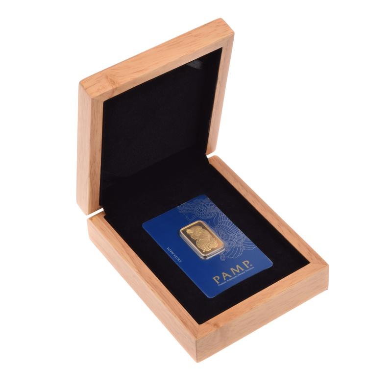 PAMP 20 Gram Gold Bar Gift Boxed
