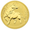 2021 Perth Mint Half Ounce Year of the Ox Gold Coin