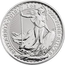 VAT FREE for Storage - 1oz Silver Britannia Coin