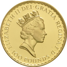 1992 Proof Britannia Gold 4-Coin Set Boxed