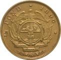 1896 1/2 Pond South Africa