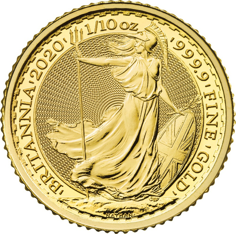 2020 Tenth Ounce Gold Britannia