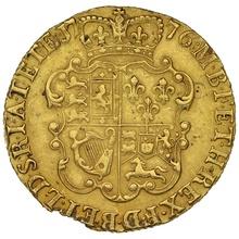 1776 George III Gold Guinea