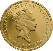 1988 Proof Britannia Gold 4-Coin Set Boxed