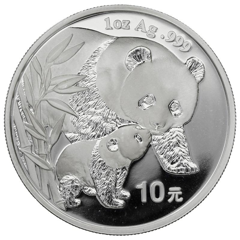 2004 1oz Silver Chinese Panda
