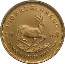 1983 Tenth Ounce Krugerrand