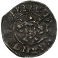 1307-27 Edward II Hammered Silver Penny Canterbury