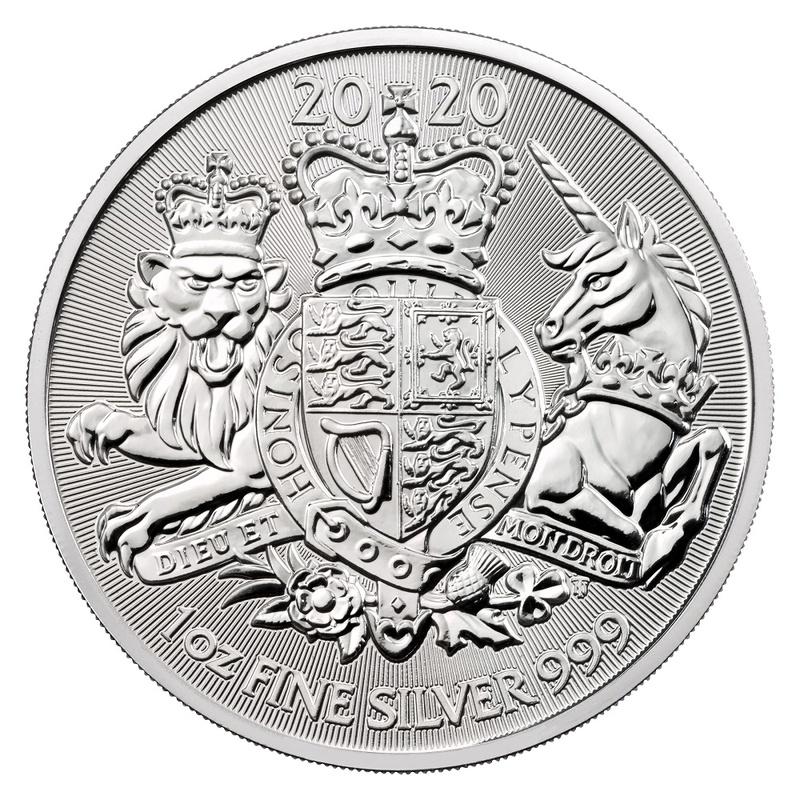 2020 Royal Arms 1oz Silver Coin