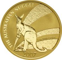 2007 1oz Gold Australian Nugget