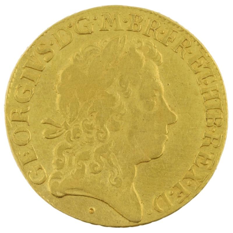 1722 George I Gold Guinea -