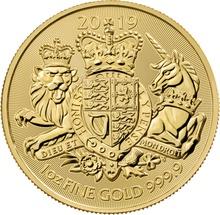2019 Royal Arms 1oz Gold Coin