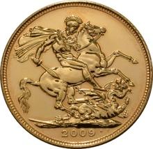 2009 Gold Sovereign - Elizabeth II Fourth Head