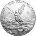 2015 1oz Mexican Libertad Silver Coin