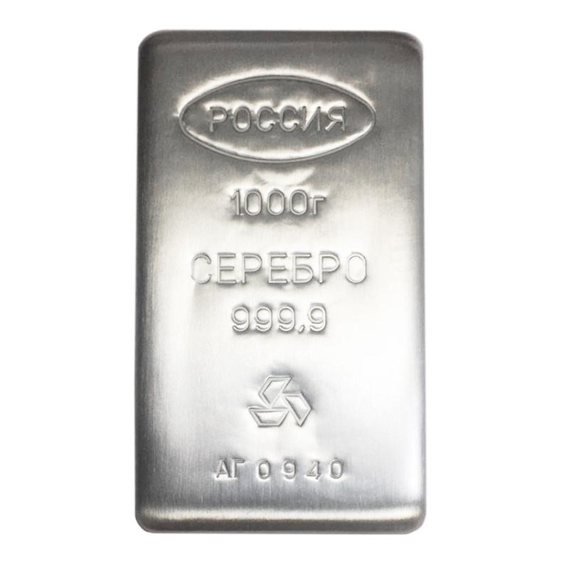 Prioksky Metals 1kg Silver Bar