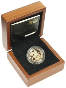 Gold Proof 2013 Sovereign Boxed