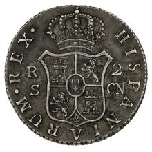 1798 Carolus IV Silver 2 Reales