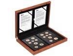 Gold Proof 2015 Fourth and Fifth Circulating UK Coinage Portrait Set Boxed