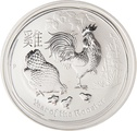 1 Kilo Australian Lunar Year of the Rooster Silver Coin