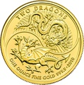 2018 'Two Dragons' One Ounce Gold Coin