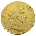 1681 Gold Guinea Charles II