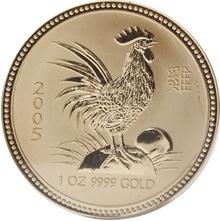 2005 1oz Gold Australian Lunar Year of the Cockerel