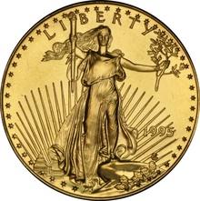 1995 Half Ounce Eagle Gold Coin