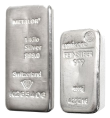 1 Kilo Silver Bullion Bar Best Value