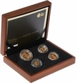 2013 Gold Proof Sovereign Four Coin Set (smaller) Boxed