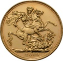 2009 Gold Sovereign - Elizabeth II Fourth Head