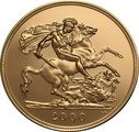 2000 £5 Gold Coin (Quintuple Sovereign)
