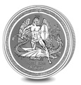 Isle of Man Silver Angel