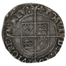 1560-1 Elizabeth I Silver Groat mm cross crosslet