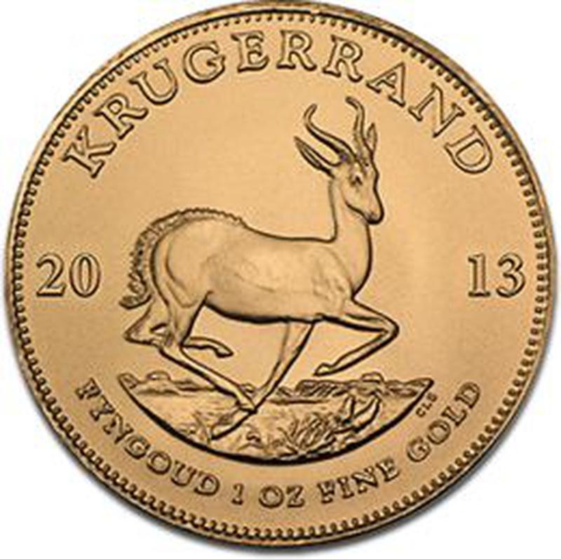 2013 1oz Gold Krugerrand